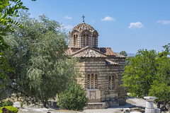 Byzantine Church of the Holy Apostles - Athens, Greece