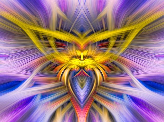 Spiritual Twirl Art #13  -