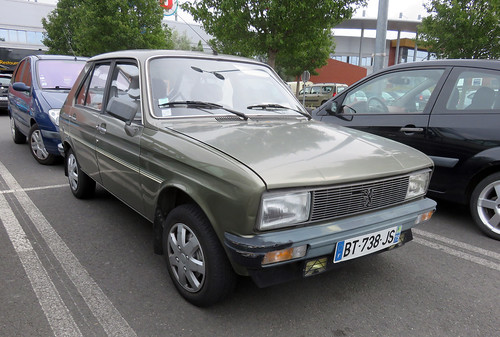 Peugeot 104 GLS   by Spottedlaurel