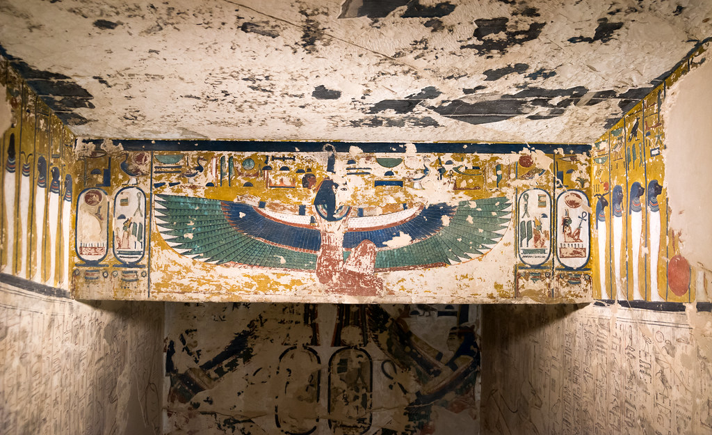 The Tomb Seti Stairwell Relief From Flickr