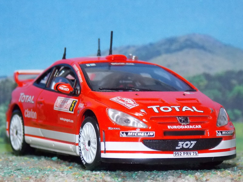 Peugeot 307 WRC - Montecarlo 2004