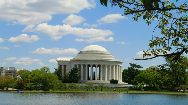 Washington D.C.: Thomas-Jefferson-Memorial