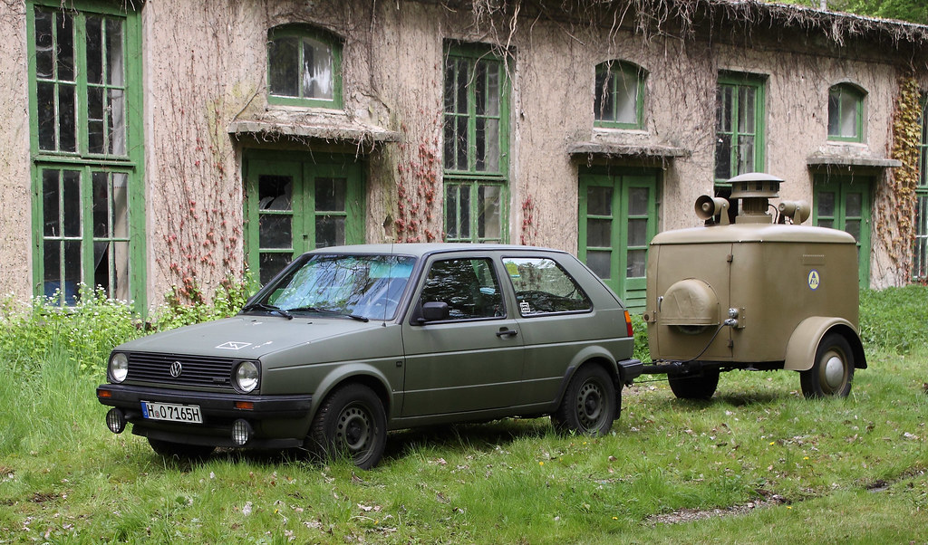 reputable site c3ed6 6013a Bundeswehr Golf | A VW Golf at the HSM in Sehnde-Wehmingen ...