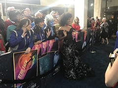 Sonequa Martin Green & Fans  at the Star Trek Discovery Premiere - IMG_0107