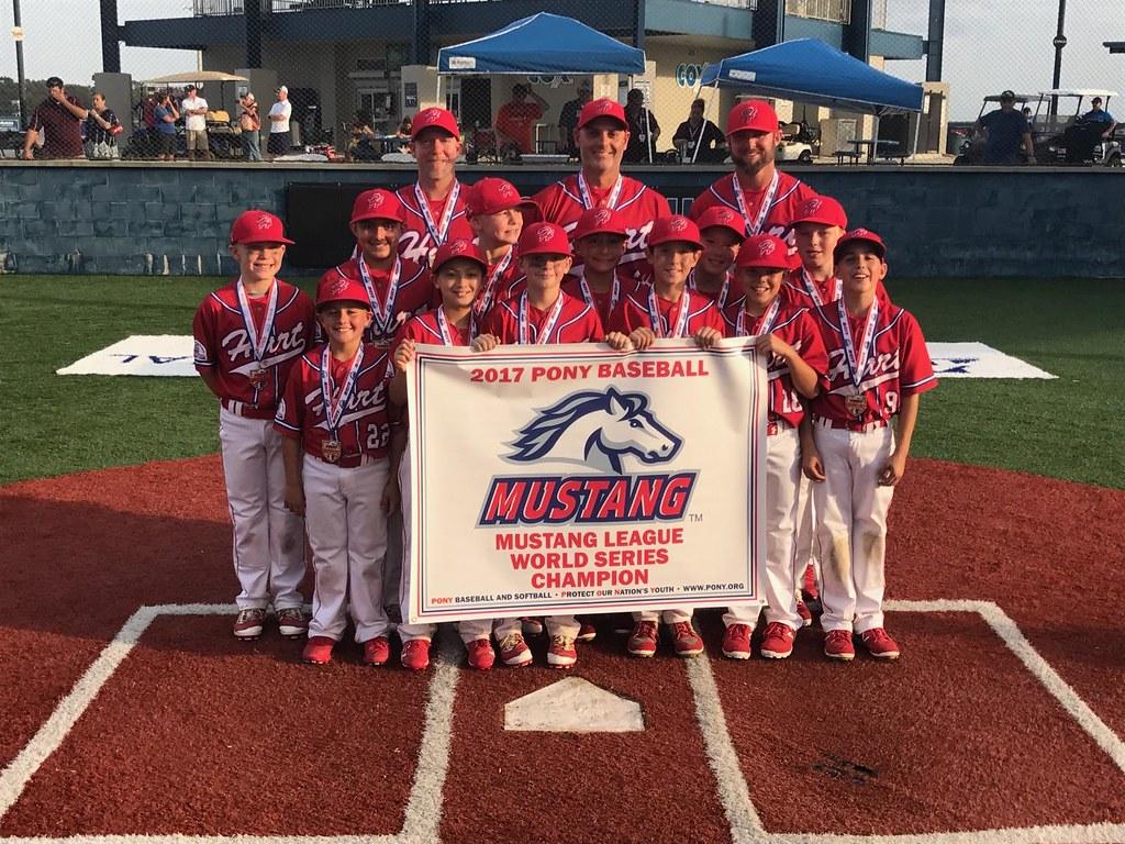 Hart - Mustang - World Series Champions 2 | Pony Baseball