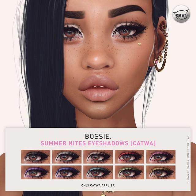 Bossie. summer nites eyeshadows [catwa]