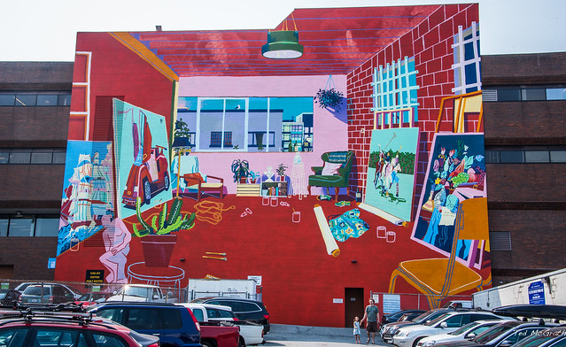 2017 - Vancouver - 2017 Mural Festival - Vancouver Studio (After Matisse)