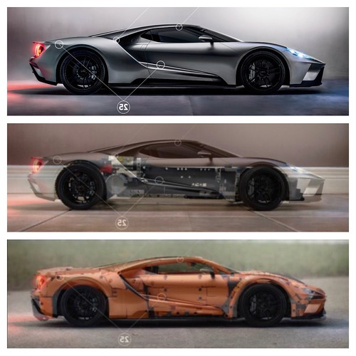 Ford GT - From drawing board to reality 🏁 | by loxlego