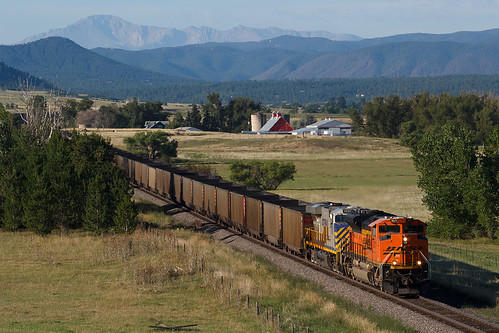 bnsf bnsf9071 emd sd70ace castlerock colorado jointline rampartrange pikespeak train railroad crystalvalleyparkway