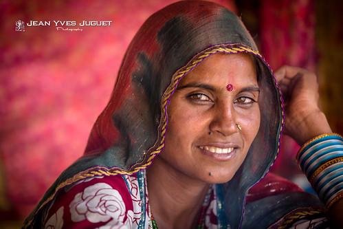 Femme Kalbelia de Pushkar (Rajasthan -Inde) -  Kalbelia of Pushkar (Rajasthan-India)