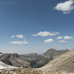Looking west from Paintbrush Divide