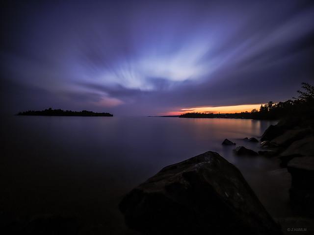Shore of Lake Superior.