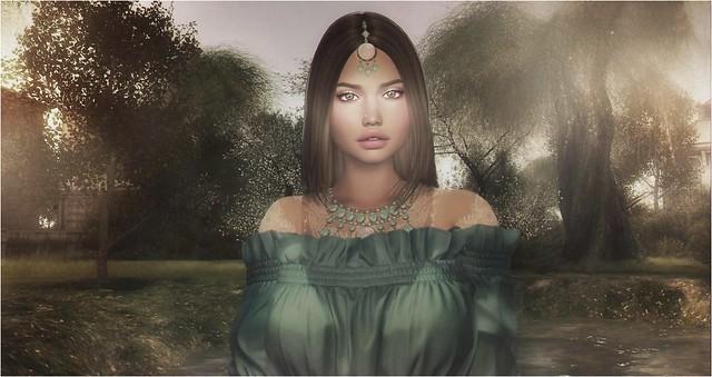 Portrait in the meadow