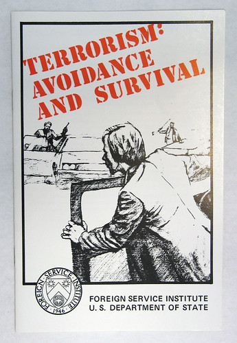 Terrorism: Avoidance & Survival booklet