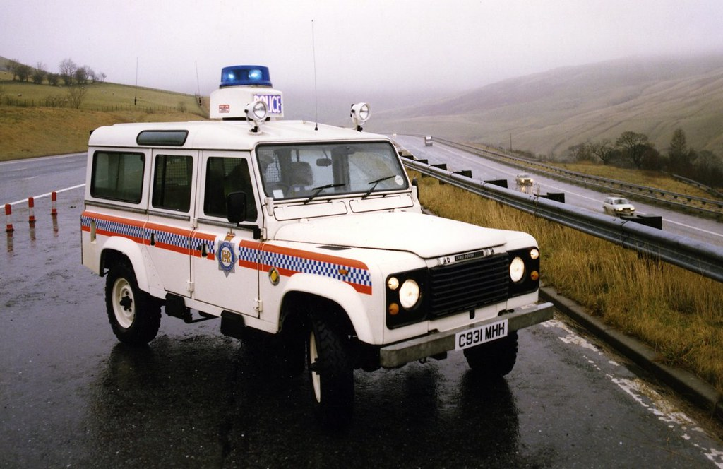 Land Rover Defender 110 – Police – 1998