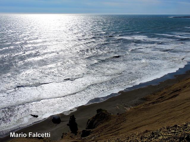 Iceland: coast and Atlantic Ocean as seen from the road between Djúpivogur and Höfn