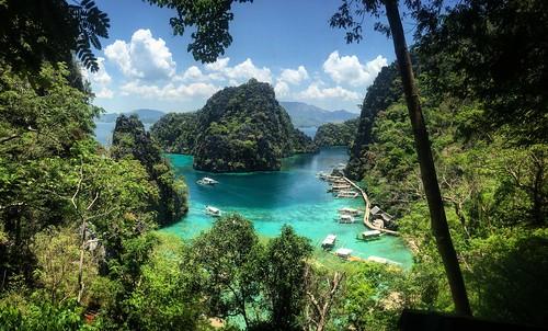 island landscape waterscape seascape tropical water coron philippines beach lake kayanganlake kayangan instagram