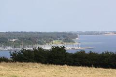 Blick von der Düppeler Anhöhe zum Yachthafen von Sønderborg / Sonderburg