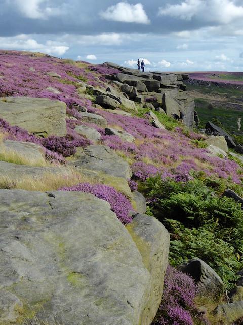 Burbage Rocks Sheffield to Bamford walk