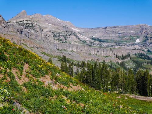 Descending into Alaska Basin | by snackronym