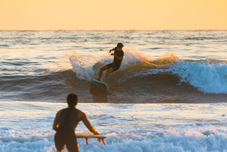 Surfers at Coal Oil Point at Twilight | by beltz6