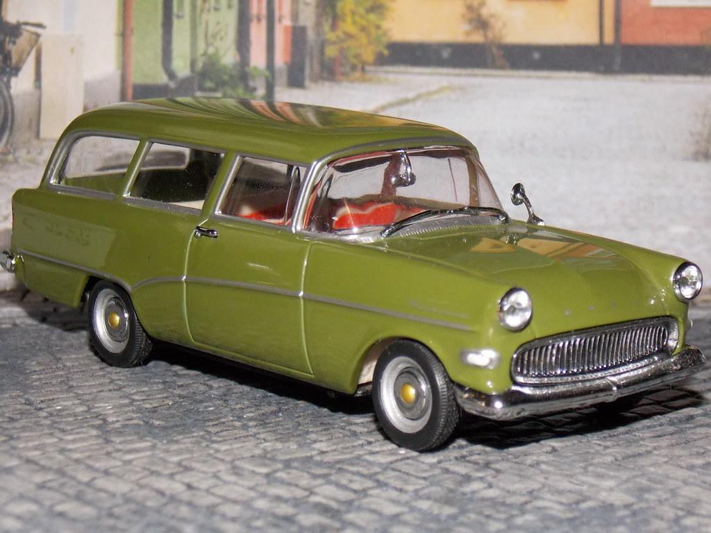Opel Rekord P1 Caravan - 1957