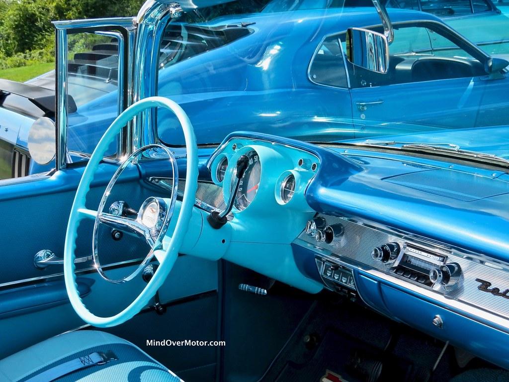1957 Chevrolet Bel Air Convertible Interior Driver Side Flickr