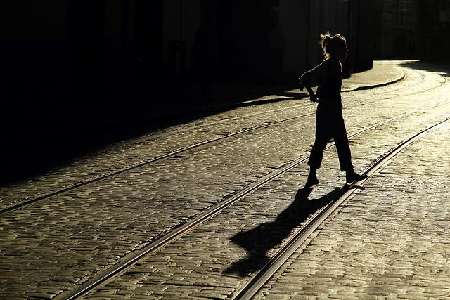 Schattenfrau