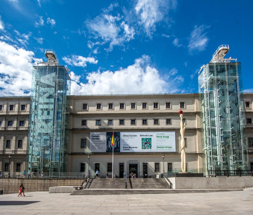 Museo Nacional Centro De Arte Reina Sofia Madrid Spain Flickr