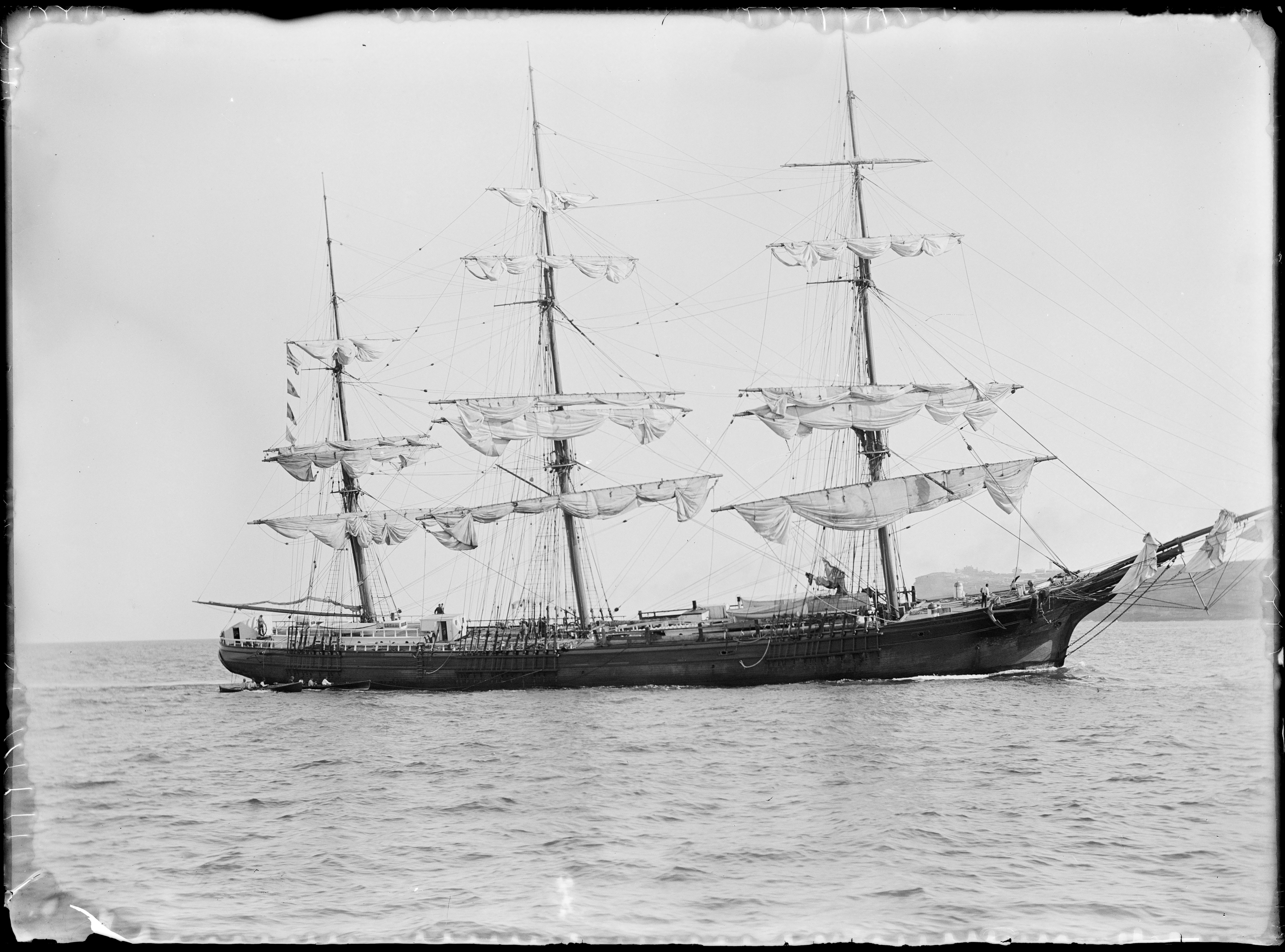 Glass negatives including images of boating, beaches, motoring and houses in the Sydney region, ca 1890-1910, by William Joseph Macpherson