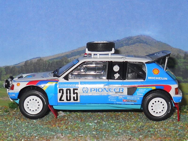 Peugeot 205 Turbo 16 - Dakar 1988