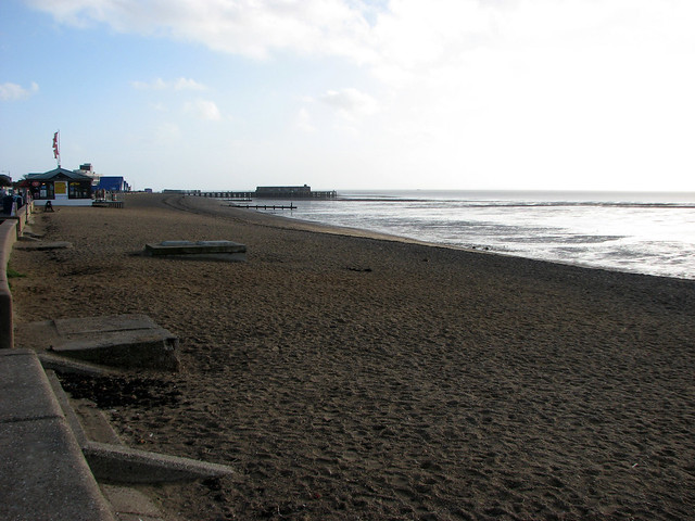 The beach at Southend