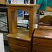 Natural oak dresser 3 drawer E85