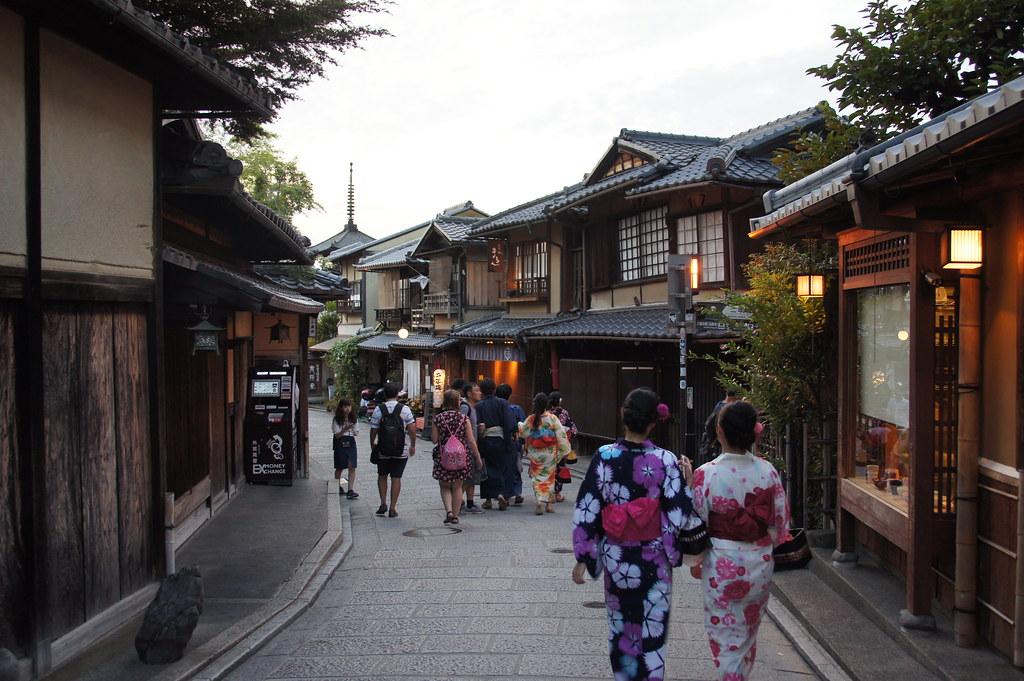 Kyoto, Japan, September 2017