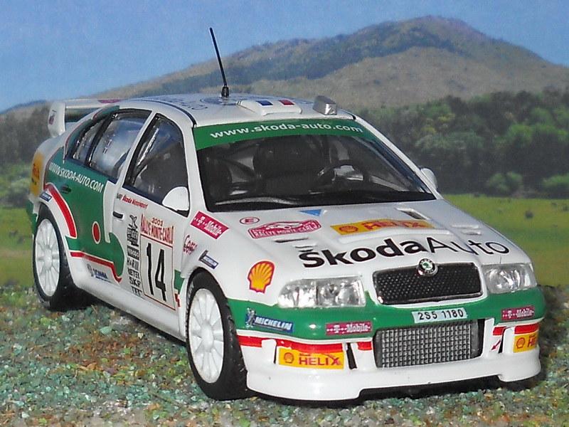Skoda Octavia WRC - Montecarlo 2003