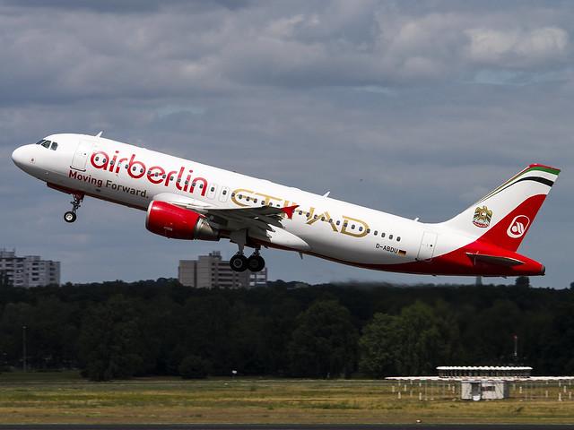 Air Berlin | Airbus A320-214 | D-ABDU