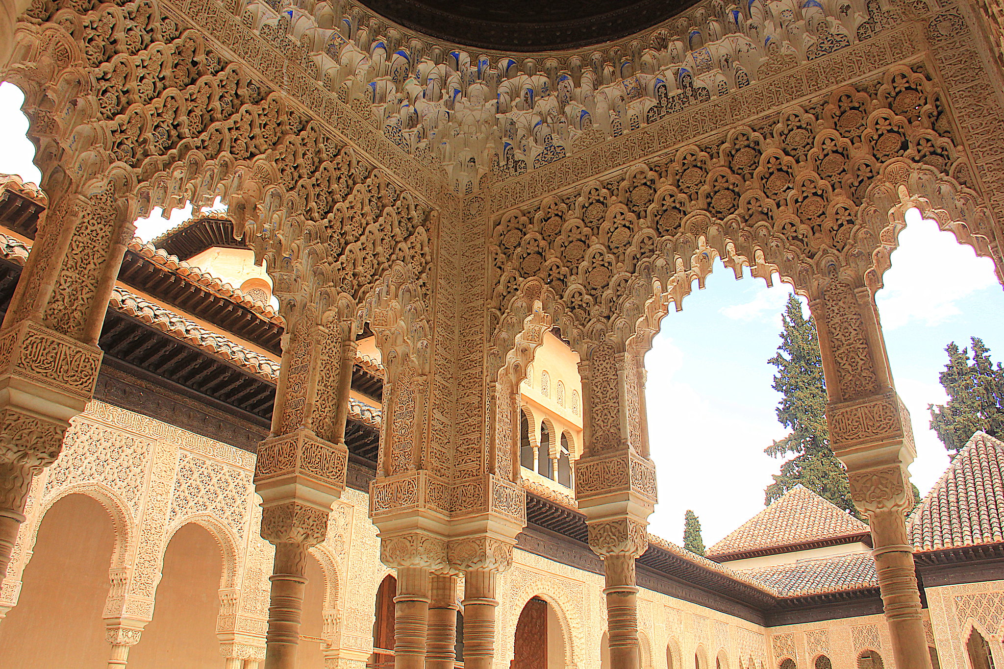 Alhambra is quintessential Moorish Andalusia