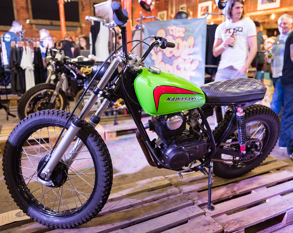 Kawasaki KL250 by Sweet Pete's Speed Shop | Motorcycle Socia