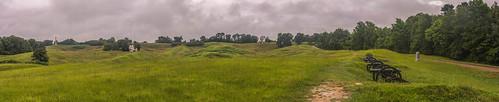 vicksburg national military park battery de golyer mississippi