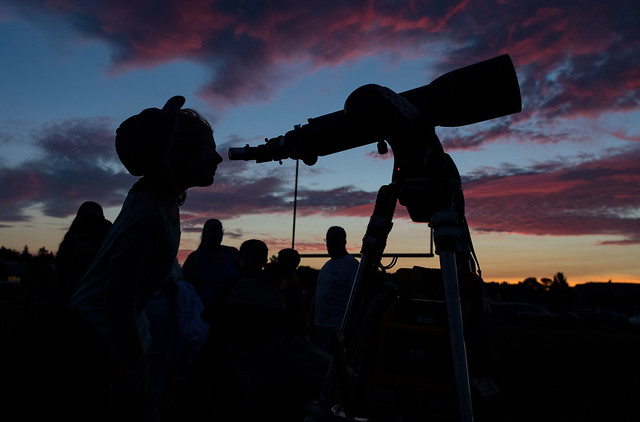 2017 Total Solar Eclipse Star Party (NHQ201708200105)