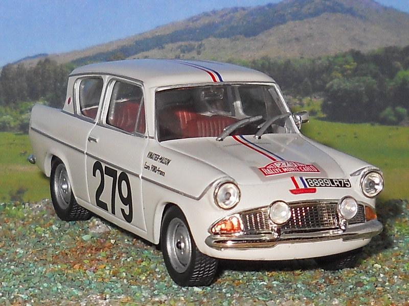 Ford Anglia - Montecarlo 1963