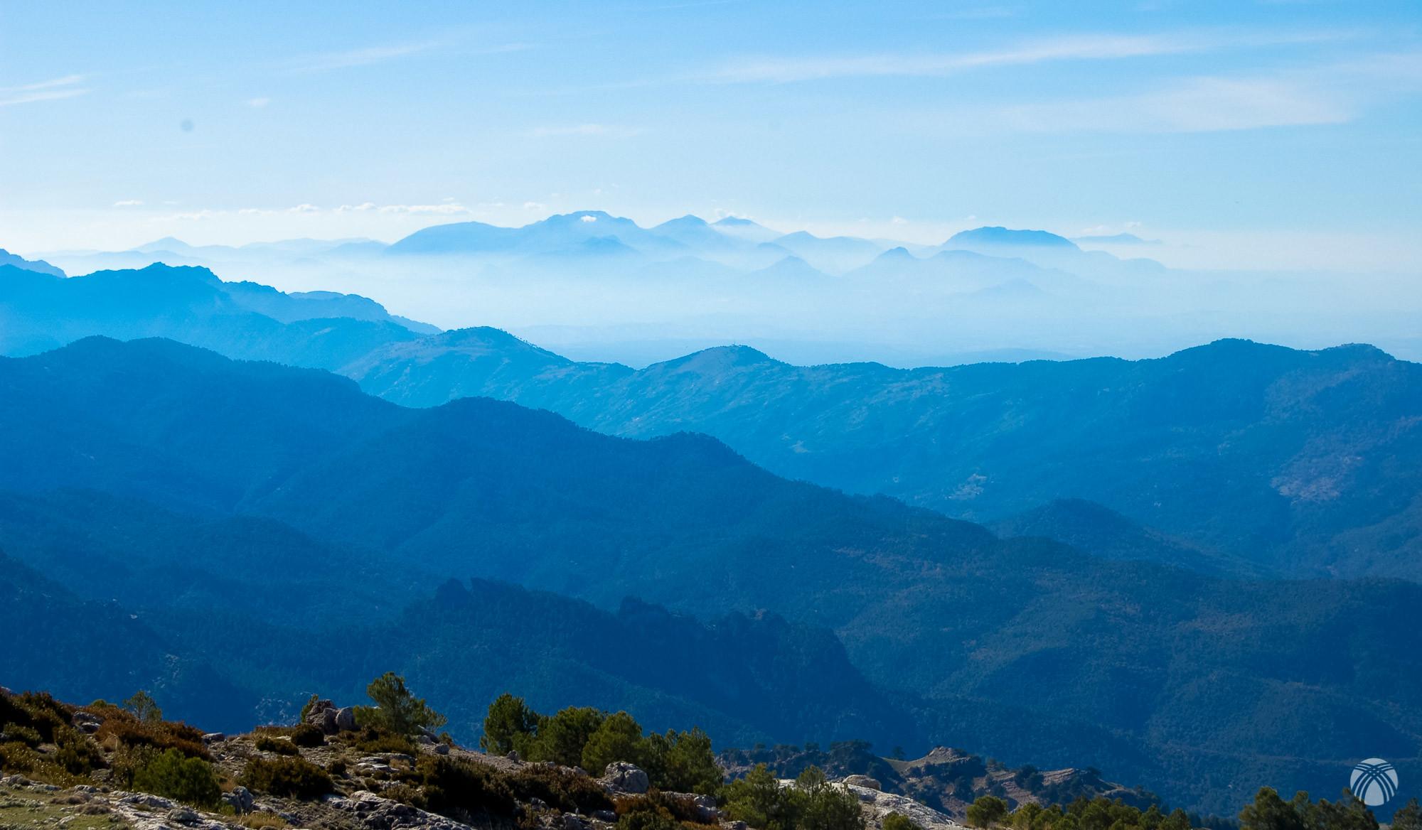 Tirando de zoom podemos ver Sierra Mágina