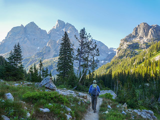 Hiking back down to Cascade Canyon   by snackronym