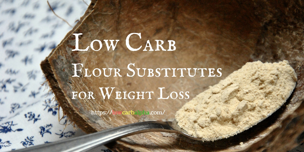 low carb flour substitutes for weight loss  image of low