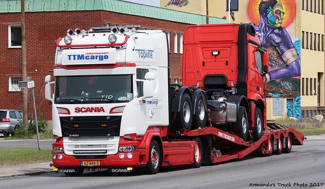 Scania R520 (NL423) Trucktransport TTMcargo