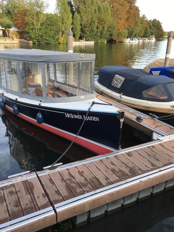 Midsomer boat Henley via Turville Circular walk