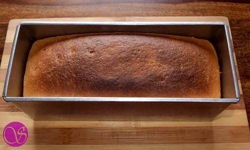 Honey Buttermilk Bread baked