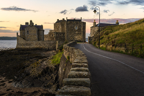 uk unitedkingdom blacknesscastlescotlandukgb architecture historical history sunset