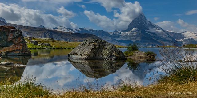 Stellisee et le Cervin (Switzerland)