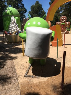 Android Lawn Statue Park | by NateBal.com